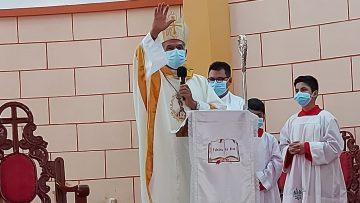"""Monseñor Alfredo Vizcarra hizo llamado a """"construir una patria para todos"""" en los 200 años de independencia del Perú"""